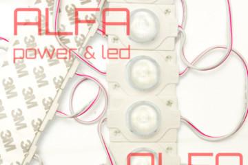 Светодиодный модуль торцевой  AM-3030-1 Led